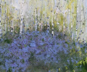 Bluebell Clearing 100x120cm